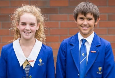 Ficino School Head Boy and Girl 2015_feature